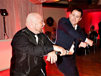 DJ Shane and Channing Tatum mix it up a wedding reception