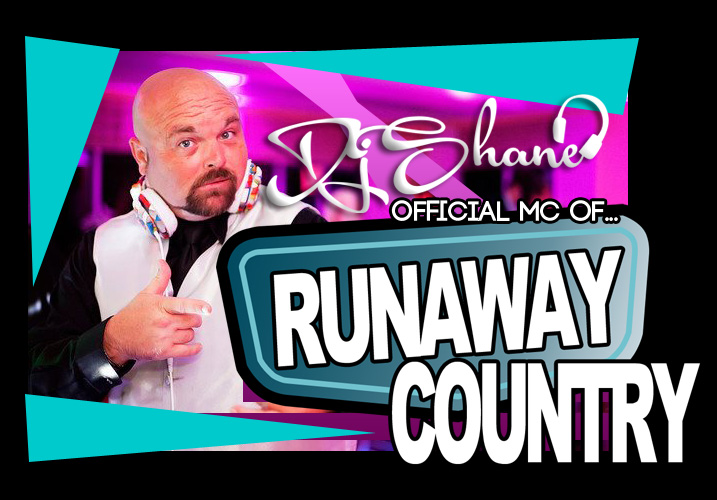 DJ Shane of Melbourne, FL is the official MC for Runaway Country