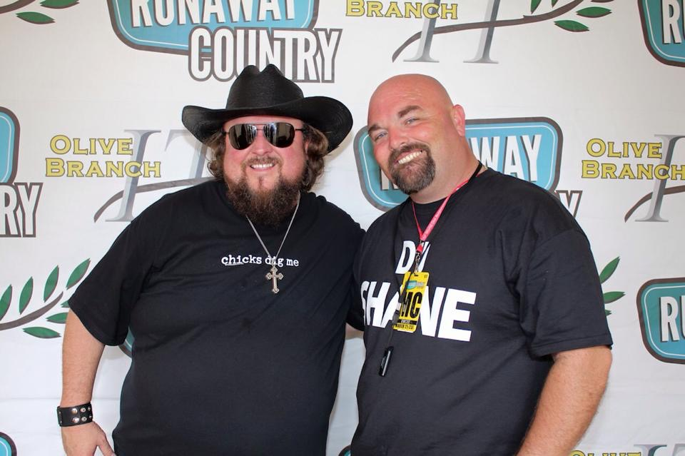 DJ Shane with Colt Ford