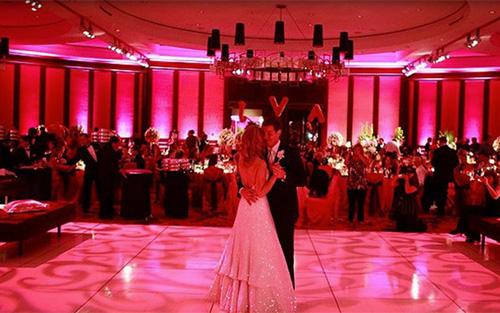 DJ Shane Entertainment Wedding Lighting